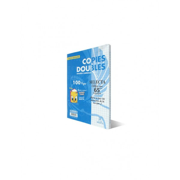 COPIES DOUBLES A4 100P SELECTA