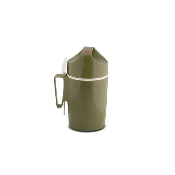 THERMOS ROTPUNKT 850ML OLIVE